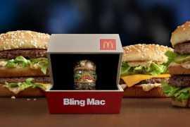 McDonald's предлагает кольцо за 12500 долларов в ознаменование Дня Св. Валентина