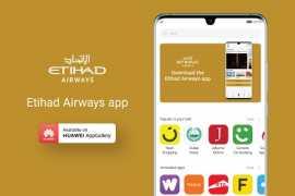 阿提哈德航空App正式上架华为应用市场