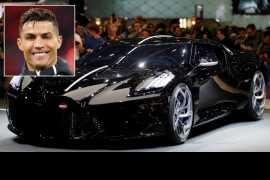 Juventus superstar Cristiano Ronaldo 'buys world's most expensive car'