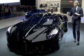 €11 million Bugatti La Voiture Noire becomes the most expensive new car ever