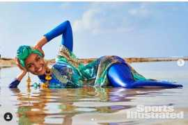 Muslim women stage protest against French pool's burkini ban