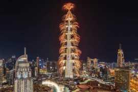 Дубай встречает Новый 2020 год!