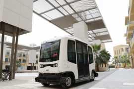 В ОАЭ перед запланированным развертыванием испытываются беспилотные автомобили по технологии 5G
