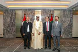 Mohammed bin Rashid witnesses launch of 'Traders Market' in Dubai from Chinese capital