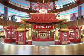 迪拜购物中心春节庆祝活动