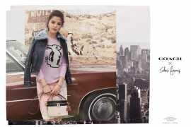 Coach представляет новую коллекцию Coach x Selena Gomez