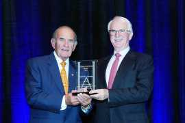 Colm McLoughlin Receives Lifetime Achievement Award