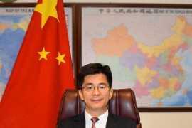 中国驻迪拜总领事李旭航给《空中桥梁》读者送来鼠年新春的祝福