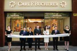 CARL F. BUCHERER OPENS ITS FIRST BOUTIQUE IN SHANGHAI