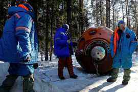 UAE astronauts challenged to survive for days alone in Russian winter wilderness