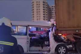Eight killed and six seriously hurt in Dubai bus crash