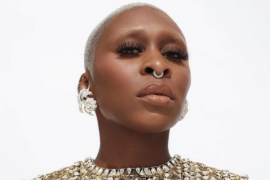 Cynthia Erivo wears Tiffany & Co. at the 63rd Annual Grammy Awards