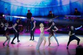 Сольный концерт Полины Гагариной в Абу Даби совпал с православным Рождеством