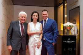 Li Bingbing Opens Carl.F.Bucherer's First Boutique in Lucerne