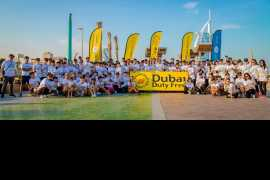 "Dubai Duty Free is ""In It"" again for the 3rd Dubai Fitness Challenge"