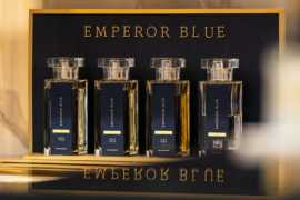 A world of elegance, glamour and confidence of Emperor Blue Fragrance