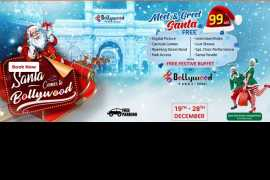 Santa and his elves to descend on BOLLYWOOD PARKS™ Dubai from 19th to 28th December
