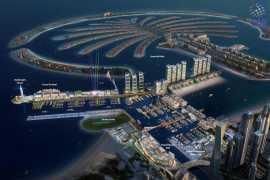迪拜再建大型人工港口