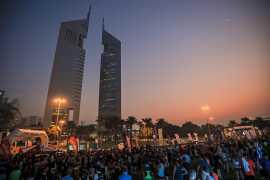 Шоссе шейха Заида превратится в площадку для забега в рамках акции Dubai Fitness Challenge
