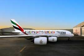 Emirates A380 в ливрее «Год терпимости» готов к историческому полету