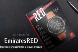 Эмирейтс переосмысливает шопинг на борту с помощью EmiratesRED