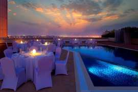 Dine under the stars on Valentine's Day at M Hotel Downtown by Millennium