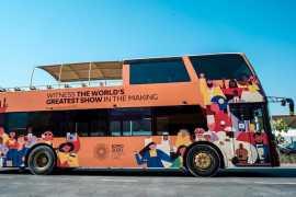 Этим летом жители ОАЭ могут совершить бесплатную автобусную экскурсию по территории проведения Dubai Expo 2020