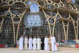 Crowning moment for Expo 2020 Dubai as final section of Al Wasl dome is lifted into place
