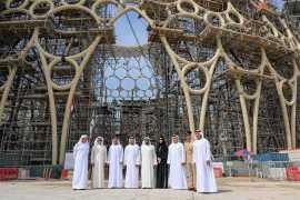 Венчающий момент подготовки к Expo 2020 Dubai-установлен купол Al Wasl
