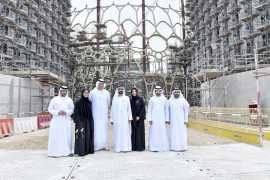 Mohammed bin Rashid visits Expo 2020 Dubai infrastructure projects