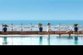 繁华中的宁静--迪拜费尔蒙酒店