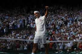 Федерер первым в истории выиграл 100 матчей на одном мэйджоре