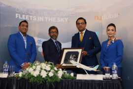 flydubai's inaugural flight lands in Kozhikode