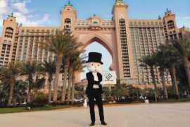Самая популярная настольная игра мира «Монополия» теперь в Дубае
