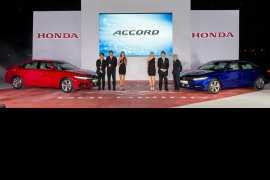 Honda launches its10th generation Accord