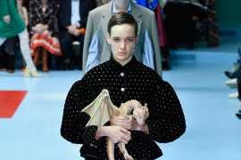 Gucci покажут коллекцию весна–лето 2019 на неделе моды в Париже