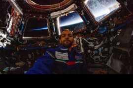 Hazza Al Mansouri prepares for return to Earth
