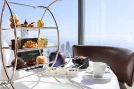 到世界最高楼叹下午茶!