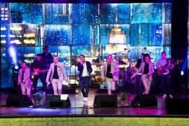 Выступление Димы Билана на Музыкальном фестивале в Абу Даби