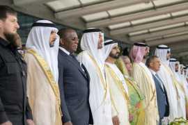 IDEX 2019: UAE Rulers watch spectacular opening display