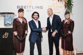 Breitling Announces Partnership With Etihad Airways
