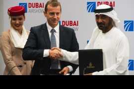 Airbus подписал контракты на сумму $30 млрд с Emirates и Air Arabia
