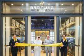 """百年灵(BREITLING)在阿联酋购物中心开启全新""""工业时尚""""精品店"""