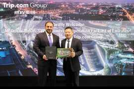 Emirates inks strategic agreement with Trip.com Group in Shanghai