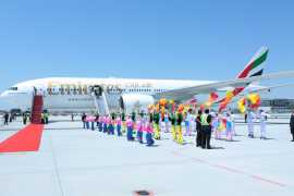 阿联酋航空开通迪拜-银川-郑州航线