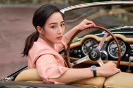 A Chinese Actress Ning Chang appeared in IWC Schaffhausen Campaign