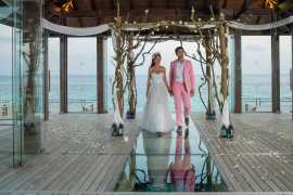 Introducing fairy-tale, overwater wedding ceremonies in the Maldives