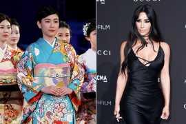 Kim Kardashian's Kimono shapewear line faces criticism from Japan