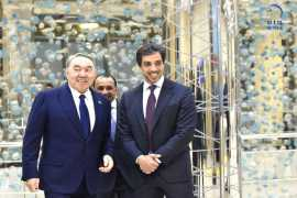 Kazakhstan President hosts banquet in honour of HH Mansour bin Zayed