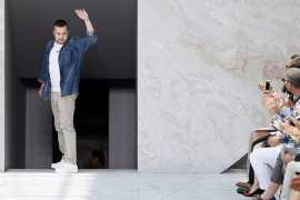 Designer Kim Jones to step down from Louis Vuitton